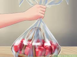 gift basket wrapping how to wrap a gift basket 9 steps with pictures wikihow