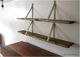 Wood Shelving Brackets by Diy Wood Shelf Projects Wood Ladder Shelf Diy Building Wood Shelf