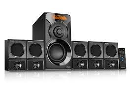 home theater loudspeakers multimedia speaker 5 1 spa6600 94 philips