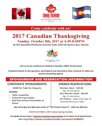 canada colorado association 2017 canadian thanksgiving