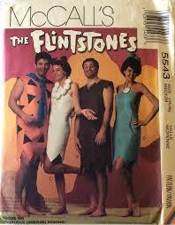 Flinstone Halloween Costume Flintstones Halloween Costume Pattern Uncut Teen Mccall U0027s