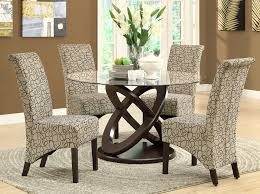 espresso dining room set monarch olympic ring espresso glass top dining table