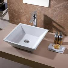 dropin wall s square bathroom sink find your new american standard