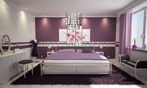 teenage bedroom design ideas purple black pattern pillow