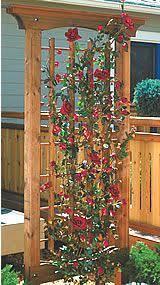 Simple Trellis Ideas Garden Trellis Plans Roselawnlutheran