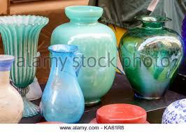 Vase On Sale Vintage Objects On Sale In Porta Portese Market Rome Italy Stock