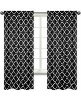 Black And White Curtain Designs Boom Holiday Sales On Red And Black Curtains