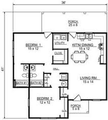 small cottage plan with walkout basement cottage house plans
