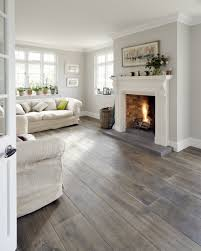 Floor And Decor West Oaks by Dark Wood Floor Light Grey Walls White Trim Home Color
