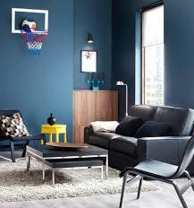 Wohnzimmer Design Farbe Wohnzimmer Wandfarbe Blau