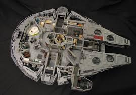 star wars lego millennium falcon with full interior gadgetsin