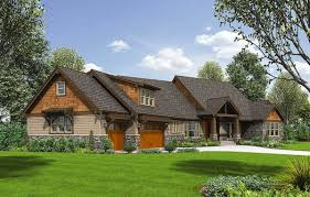 craftsman home plan with rugged good looks 69534am