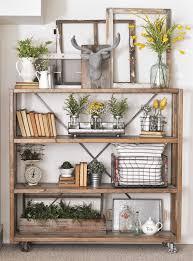 shelf decorating ideas 30 beautiful farmhouse decorating ideas for summer rolling shelves