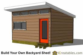 How To Build A Small Outdoor Shed by Modern Shed Plans Modern Diy Office U0026 Studio Shed Designs