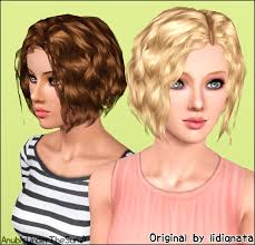 the sims 3 hairstyles and their expansion pack mod the sims lidiqnata s short curly hair converted for all