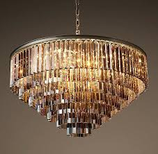 Brilliante Crystal Chandelier Cleaner Where To Buy 1920s Odeon Smoke Glass Fringe Rectangular Chandelier 59 Tag