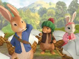 rabbit and benjamin bunny image rabbit three firends jpg rabbit tv series