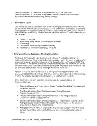 Nuclear Medicine Technologist Resume Examples by 2015 06 03 Succession Policy U0026 Contingency Planning For Ceos