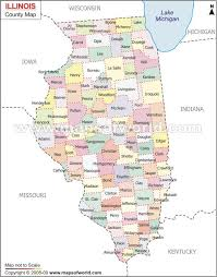 missouri county map with roads illinois counties road map usa
