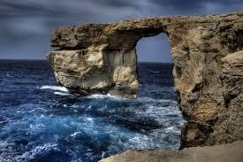 azure window colapse wallpaper malta 5k 4k wallpaper sea ocean rocks nature 4391