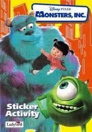 monsters sticker book disney film video walt disney
