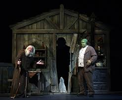 Young Frankenstein Blind Man Stagescenela