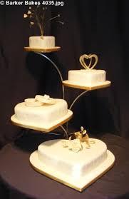 Heart Wedding Cake 4 Tier Heart Wedding Cakes U2013 Barker Bakes Ltd