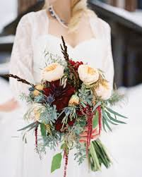 Wedding Bouquets 37 Absolutely Gorgeous Winter Wedding Bouquets Martha Stewart