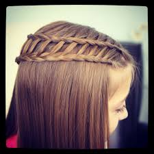 tutorial rambut waterfall feather waterfall ladder braid combo 2 in 1 hairstyles cute