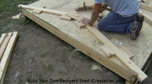 How To Build A Tool Shed Ramp by How To Build A Shed Storage Shed Building Instructions