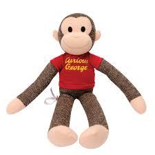 Curious George Curtains Curious George Sock Monkey