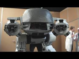 Robocop Halloween Costume Build Lifesize Robocop Ed 209 Costume U0027ll Wear