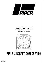 piper autoflite ii service manual part no 761 481 u2022 29 95 picclick