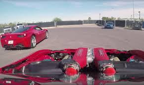Ferrari 458 Drifting - ferrari 458 powered gt86 does donuts around ferrari 458