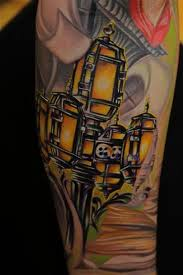 usc doheny library tattoo sleeve mike demasi tattoo by mike demasi