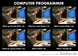 Funny Programming Memes - the best of what people think i do what i really do meme 25 pics