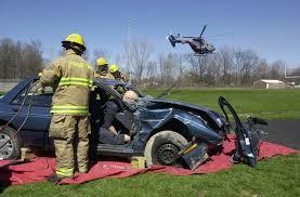 mock car crash video thomas townshipthomas township