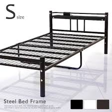 Slatted Frame Bed Lala Sty Rakuten Global Market Bed Metal Bed Pipe Bed Single