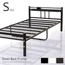 Single Beds Metal Frame Lala Sty Rakuten Global Market Bed Metal Bed Pipe Bed Single