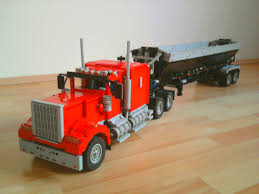 kenworth truck builder dump your load the lego car blog