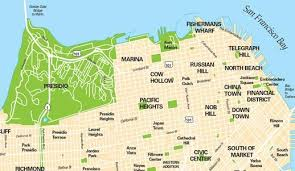 san francisco map of usa big san francisco map map of usa states