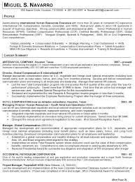 exles of hr resumes fantastic human resources manager resume summary ideas exle