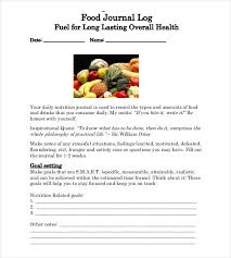 food log template 29 free word excel pdf documents free
