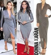 kim kardashian dress 2 pieces bandage elegant two piece