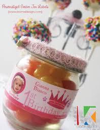 Diy 1st Birthday Centerpiece Ideas First Birthday Princess Free Printables Diy Favor Ideas