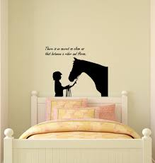 to go to sleep i count horses not sheep horse theme wall decal