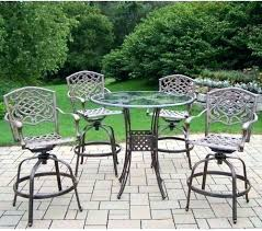 Patio Bar Height Dining Table Set Dining Tables Westbury Patio High Dining Table Discontinued Bar