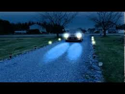 motion sensing driveway and pathway lighting system