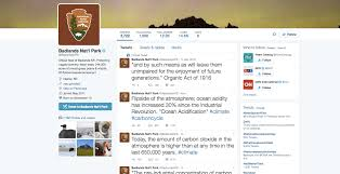 badlands national park twitter account goes rogue starts tweeting