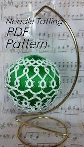pdf tatting pattern christmas ornament joyeaux noel tatted
